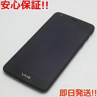 バイオ(VAIO)の美品 VA-10J VAIO Phone ブラック (スマートフォン本体)