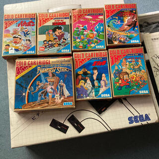 SEGA - SEGA Master System &ソフト7本 セット