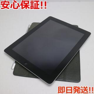 アップル(Apple)の超美品 iPad第4世代Wi-Fi128GB ブラック (タブレット)