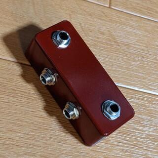【クライオ処理】 ジャンクションボックス 2in2out レッド(エフェクター)