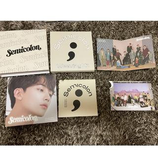 セブンティーン(SEVENTEEN)のSemicolon JEONGHAN セミコロン ジョンハン(K-POP/アジア)