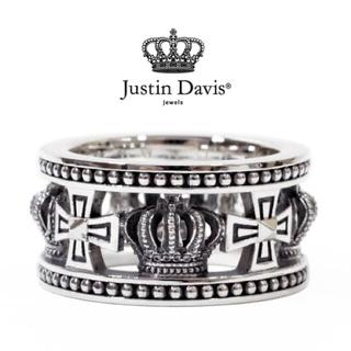 ジャスティンデイビス(Justin Davis)の【大人気】Justin Davis リング 15号 いぶし 正規店購入品(リング(指輪))