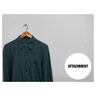 アタッチメント(ATTACHIMENT)のATTACHMENT シャンブレー シャツ サンプル品(シャツ)