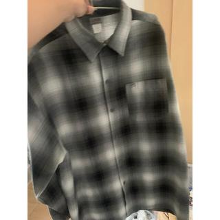 カルトップ(CALTOP)のCalTop カルトップ ネルシャツ グレー XLサイズ 送料込み(シャツ)