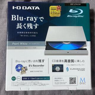 アイオーデータ(IODATA)のIOデータ BRP-UT6LEW USB 3.0対応 ポータブルーレイドライブ(ポータブルプレーヤー)