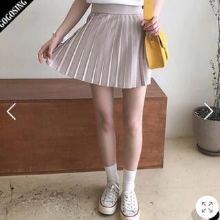 ゴゴシング(GOGOSING)の【ゴゴシング 】プリーツスカート(ミニスカート)