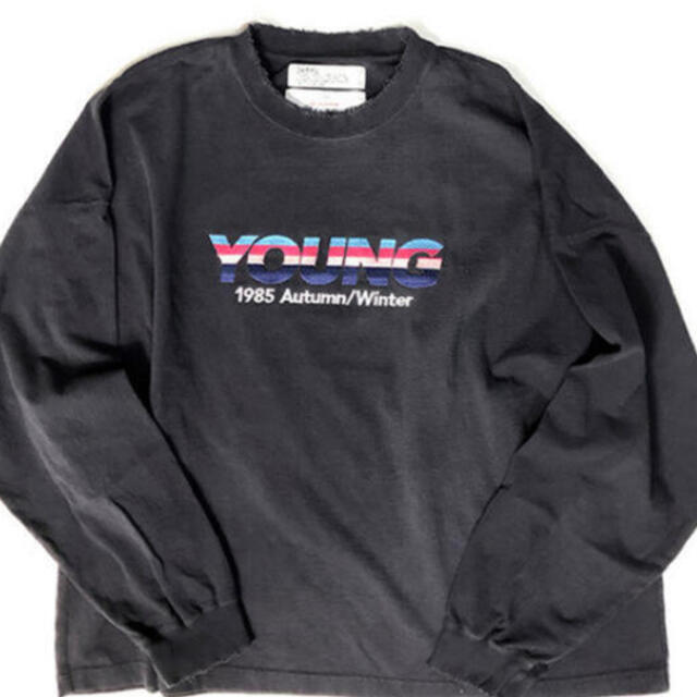 Jieda(ジエダ)の最安dairiku 21aw Embroidery Tee Young ダイリク メンズのトップス(Tシャツ/カットソー(七分/長袖))の商品写真