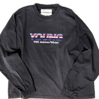 Jieda - 最安dairiku 21aw Embroidery Tee Young ダイリク