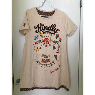 rough - rough•ラフ刺繍入りTシャツ