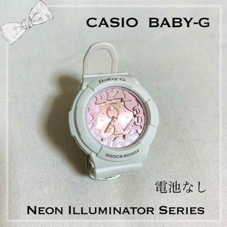 ベビージー(Baby-G)のBABY-G / 腕時計 ネオンイルミネーター シェルピンク(腕時計)
