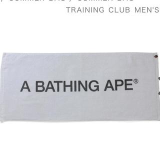 アベイシングエイプ(A BATHING APE)のA BATHING APE SHORTS Towel(タオル/バス用品)
