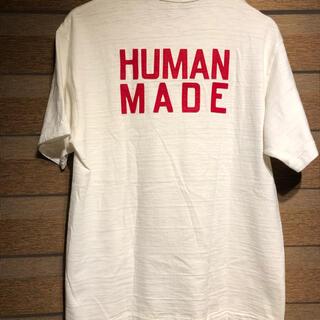 アベイシングエイプ(A BATHING APE)の美品 ヒューマンメードtシャツ   L(Tシャツ/カットソー(半袖/袖なし))
