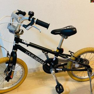 ルイガノ(LOUIS GARNEAU)の美品‼️ ルイガノ 子供 自転車 16インチ 補助輪付き(その他)