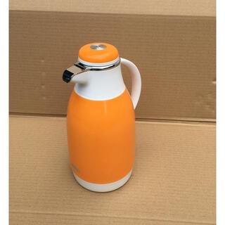 ゾウジルシ(象印)の象印マホービン 魔法瓶 リリオポット SU-1000 ポット 1L オレンジ(その他)