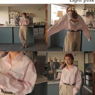 スタイルナンダ(STYLENANDA)の【求】stylenanda バックオープンシャツ(シャツ/ブラウス(長袖/七分))
