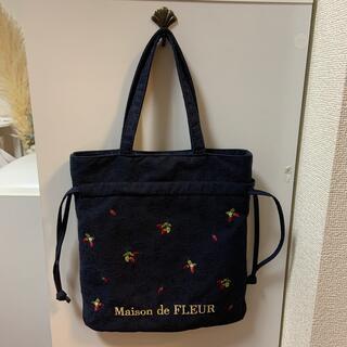 メゾンドフルール(Maison de FLEUR)のメゾンドフルール♡ストロベリーミニトートバッグ(トートバッグ)
