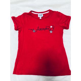 アルマーニ ジュニア(ARMANI JUNIOR)の専用☆アルマーニ☆キッズTシャツ&x-girlトップス 2着(Tシャツ/カットソー)