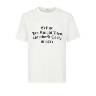 セリーヌ(celine)のCELINE 21aw TEEN KNIGHT POEM Tシャツ カットソー(Tシャツ/カットソー(半袖/袖なし))