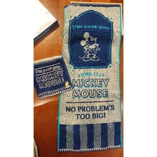 ミッキーマウス(ミッキーマウス)のミッキー タオルセット ネイビー(タオル/バス用品)