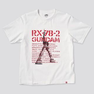 ポスト投函 未使用品 ガンダム Tシャツ M UNIQLO(Tシャツ/カットソー(半袖/袖なし))