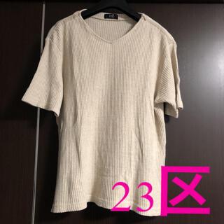 ニジュウサンク(23区)の23区☆美品(Tシャツ(半袖/袖なし))