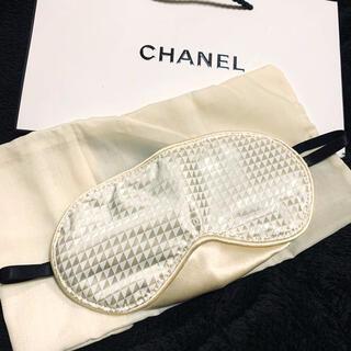 シャネル(CHANEL)のシャネル     アイマスク 新品 レア スリープマスク 紙袋 ノベルティ(パック/フェイスマスク)