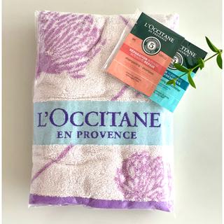 ロクシタン(L'OCCITANE)のロクシタン 新品未使用 エルバブランシュ バスタオル(タオル/バス用品)