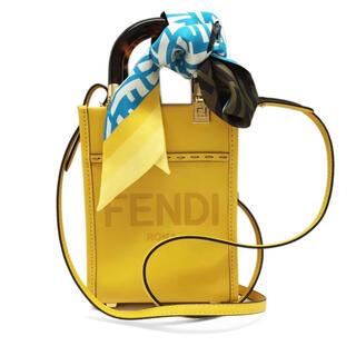 FENDI - 2021年秋冬新作★FENDI フェンディFXT011  ツイリーシルクスカーフ