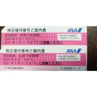 2枚セット ANA★送料無料★株主優待券 全日空(航空券)