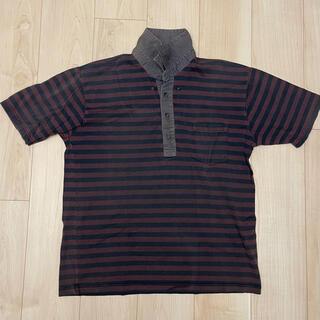 スーツカンパニー(THE SUIT COMPANY)のTHE SUIT COMPANY ポロシャツ エンジ LL 古着(ポロシャツ)