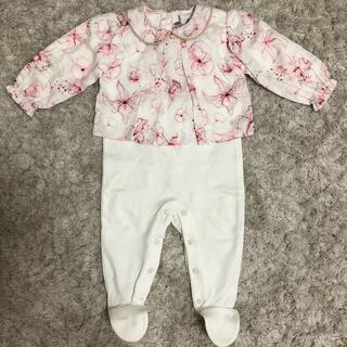 ベビーディオール(baby Dior)のbaby Dior ロンパース(ロンパース)