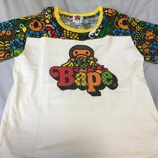 アベイシングエイプ(A BATHING APE)のBAPEキッズ 130センチ半袖Tシャツ2枚セット格安(Tシャツ/カットソー)