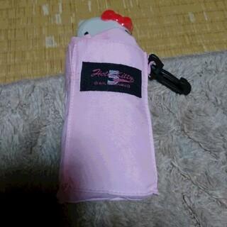 ハローキティ(ハローキティ)の子供用 ハローキティ ピンク 折り畳み傘(傘)