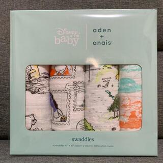 aden+anais - エイデンアンドアネイ おくるみ 4枚セット