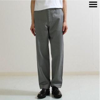 COMOLI - オーラリーWASHED FINX LIGHT CHINO PANTS GRAY
