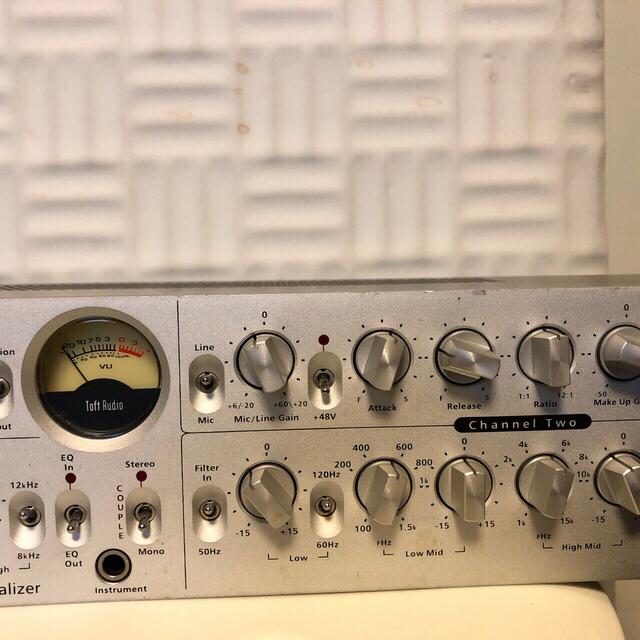 【ゆーさまTOFT AUDIO】 ACT-2 チャンネルストリップ2ch 楽器のレコーディング/PA機器(パワーアンプ)の商品写真