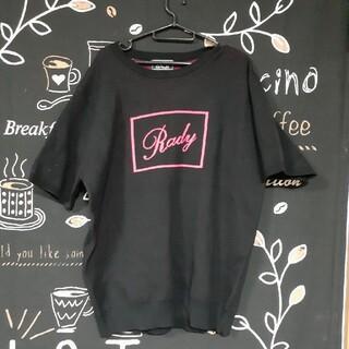 レディー(Rady)のRady メンズ ニット素材 半袖トップス(Tシャツ/カットソー(半袖/袖なし))