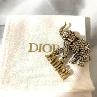 クリスチャンディオール(Christian Dior)のJ ADIOR SAFARI ブローチ(ブローチ/コサージュ)