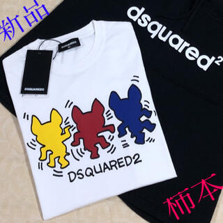 ディースクエアード(DSQUARED2)の新品タグ付き DSQUARED2    Tシャツ size 16Y(Tシャツ/カットソー)