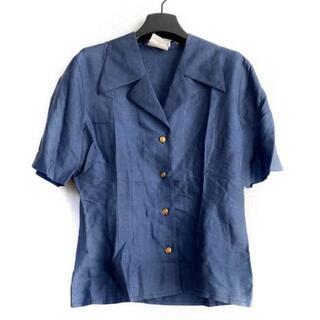 セリーヌ(celine)のセリーヌ 半袖シャツブラウス サイズ40 M -(シャツ/ブラウス(半袖/袖なし))
