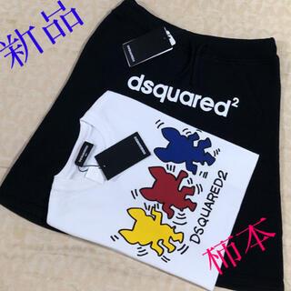 ディースクエアード(DSQUARED2)の新品タグ付き DSQUARED2  ハーフパンツ  size 12Y(パンツ/スパッツ)