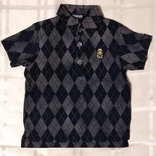 タケオキクチ(TAKEO KIKUCHI)のタケオキクチ TKSAPKID Tシャツ 100 ドクロ ポロシャツ(Tシャツ/カットソー)