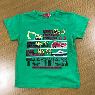 タカラトミー(Takara Tomy)のトミカ☆Tシャツ 110cm(Tシャツ/カットソー)