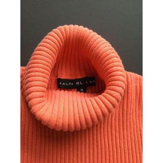 ラルフローレン(Ralph Lauren)のラルフローレン春夏用ニット 半袖 タートル コットン (ニット/セーター)