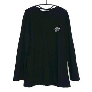 アレキサンダーワン(Alexander Wang)のアレキサンダーワン 長袖Tシャツ サイズL -(Tシャツ/カットソー(七分/長袖))