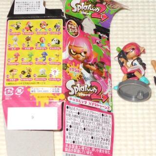 チョコエッグ スプラトゥーン2 3 ガール(ネオンピンク)(ゲームキャラクター)