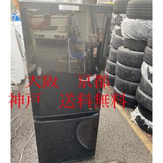 ミツビシ(三菱)の三菱 ノンフロン冷凍冷蔵庫  MR-P15A-B     2017年製 (冷蔵庫)