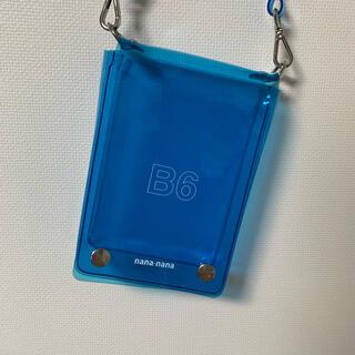 オフホワイト(OFF-WHITE)のnananana B6 ショルダーバッグ ブルー 青 (ショルダーバッグ)