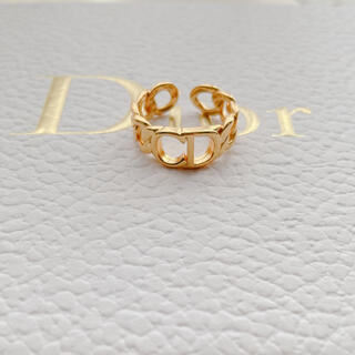 ディオール(Dior)のCD ロゴリング(リング(指輪))