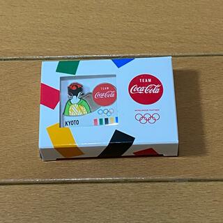コカコーラ(コカ・コーラ)のコカコーラ 東京 オリンピック 京都府 ピンバッジ Coca-Cola(ノベルティグッズ)